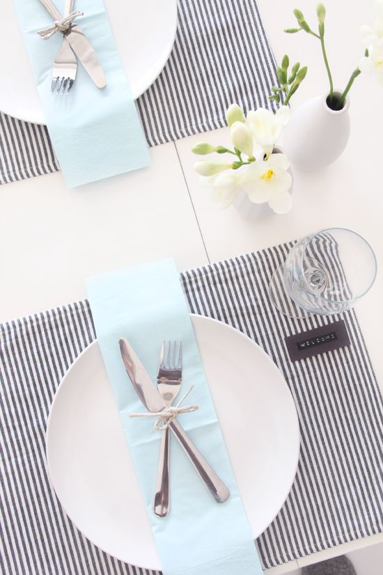 Mariage - Table Setting – Welcome Friends