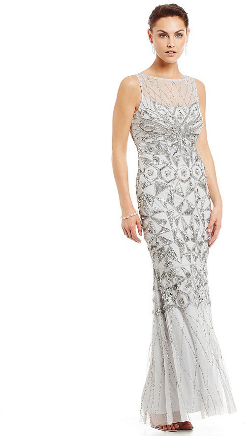JS Collections Embellished Illusion Neckline Gown #2368581 - Weddbook