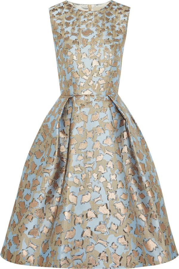 9e8f1d86f23 Mary Katrantzou JQ Astere Metallic Jacquard Dress  2368582 - Weddbook