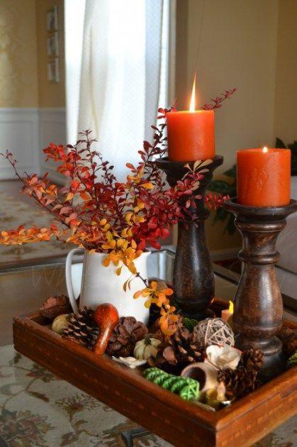 Wedding - Thanksgiving Centerpiece