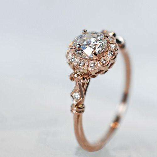 Mariage - Unique Vintage Engagement Rings « The Bride Loves The Bride Loves