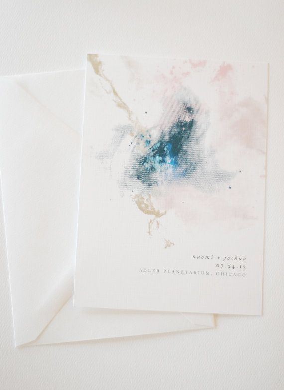 Hochzeit - Art Invite