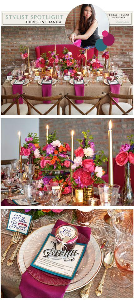 Wedding - Stylist Spotlight: Christine Janda