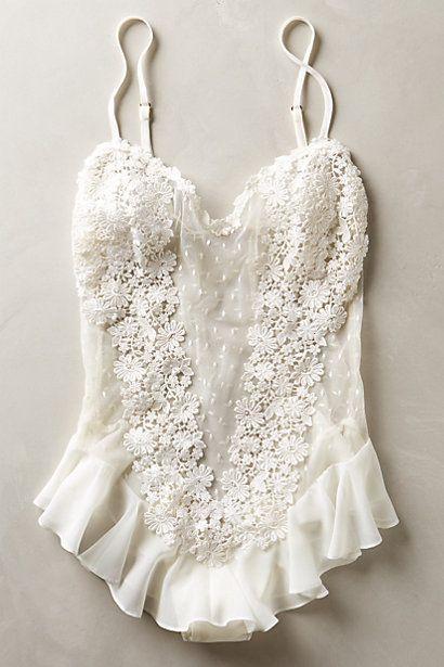 Свадьба - Fleur Flutter Bodysuit
