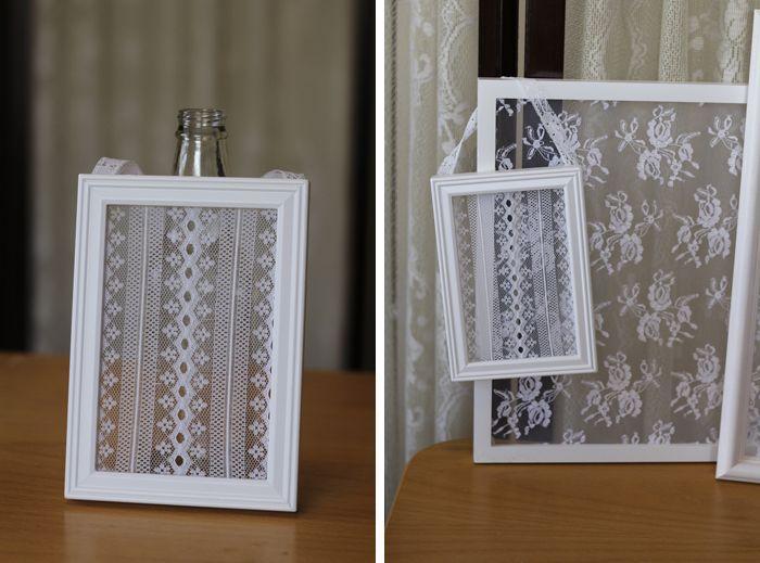 زفاف - DIY Lace Frames