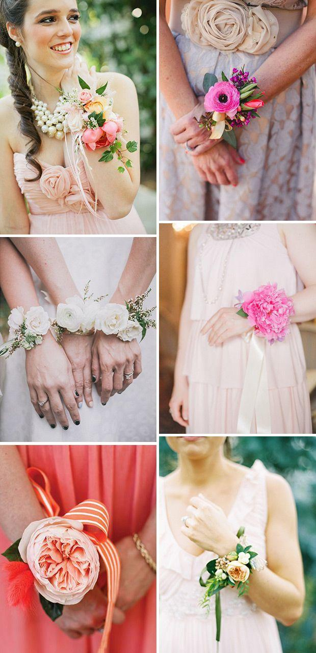 Wedding - Something A Little Different For The Girls: Bridesmaid Corsages