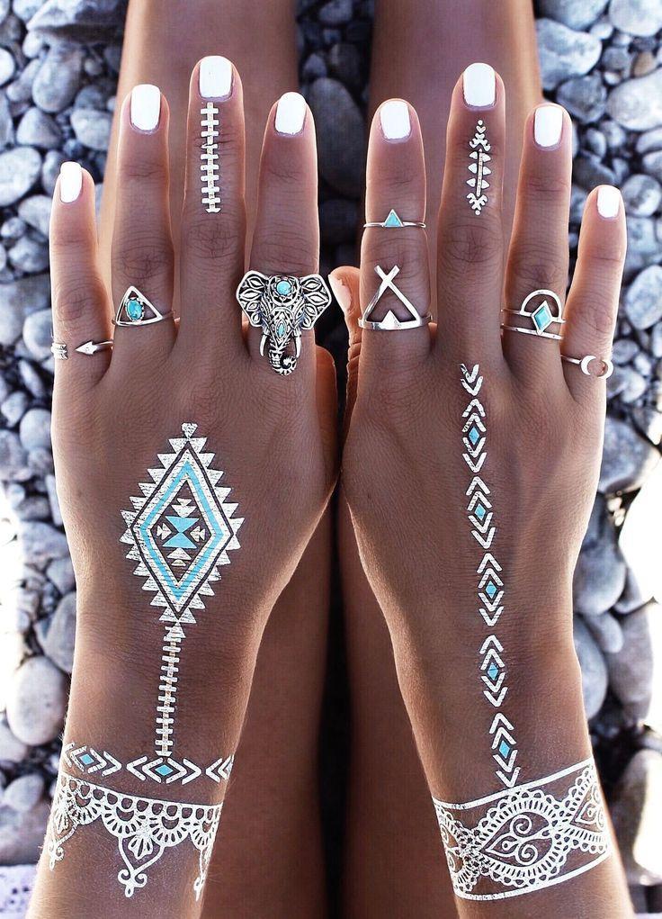 زفاف - Flash Tattoo And Jewelry Combo Inspo