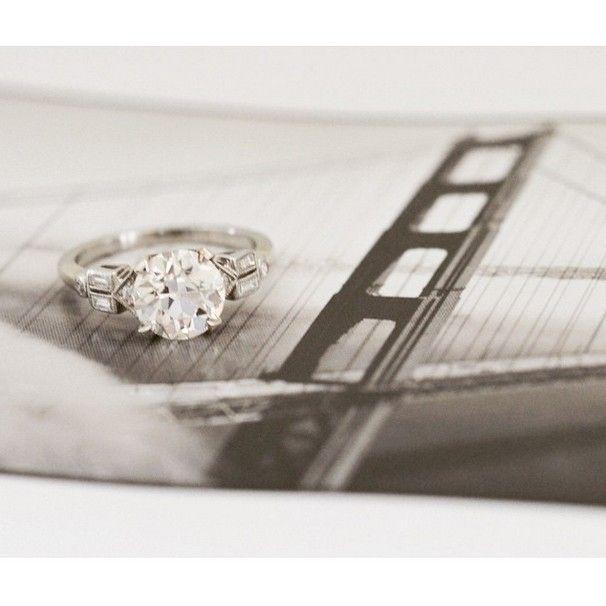 Mariage - 14K White Gold The Evaline Ring