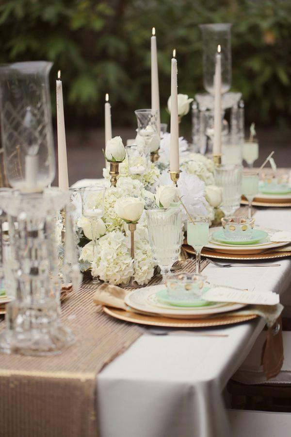 Mint Art Deco Wedding Ideas From Julie Roberts #2369606 - Weddbook