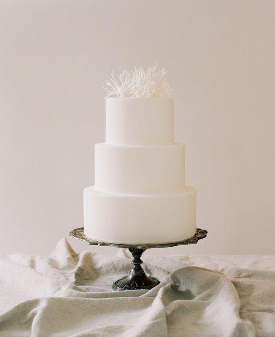 زفاف - Simple-wedding-cakes - Once Wed