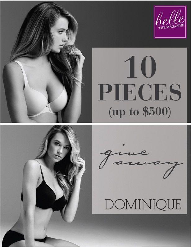 Hochzeit - 6 Days Of Giveaways - Day 3: Win 10 Intimate Pieces By Dominique - Belle The Magazine