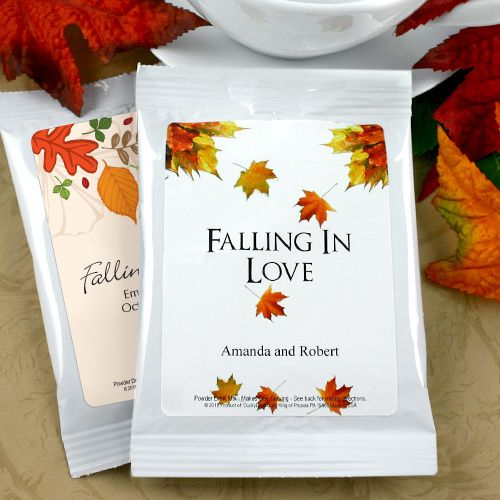 Wedding - Personalized Autumn Wedding Cocoa (Many Designs)