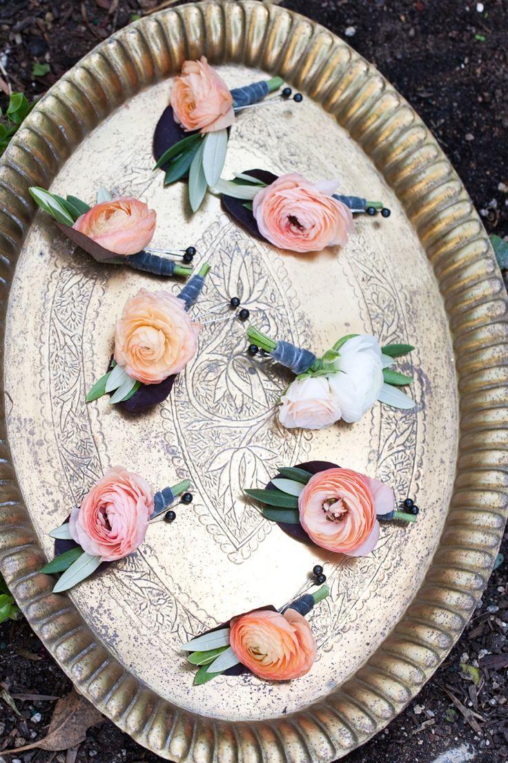 Свадьба - A Romantic Cranberry, Maroon & Blush Wedding