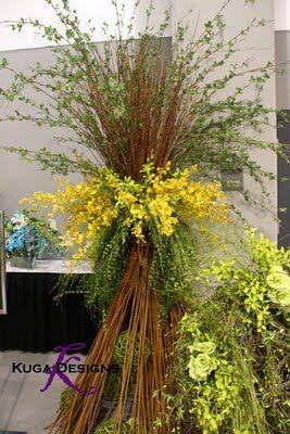 Wedding - Kuga Designs: AIFD Symposium{the Show Flowers}