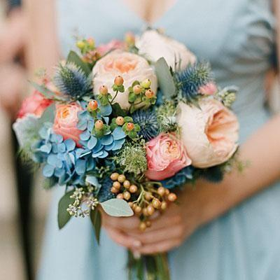 Hochzeit - Gorgeous Blue Accents