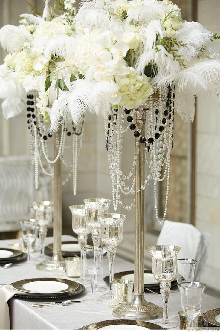 10 Great Gatsby Themed Party Ideas In Exquisite Vintage Glamour Style  #2369991 - Weddbook