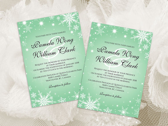 Diy Printable Wedding Invitation Card Template 2370061