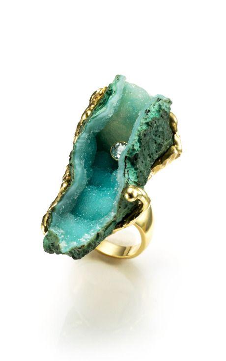 Wedding - Raw Cave Ring By Kara Ross - Moda Operandi