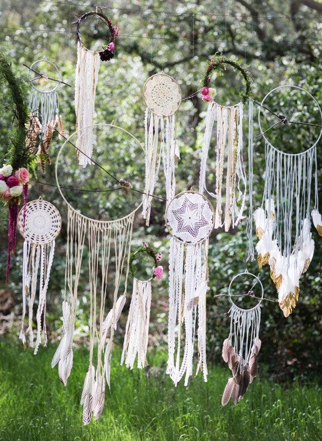 Свадьба - Dreamy Bohemian Wedding Inspiration