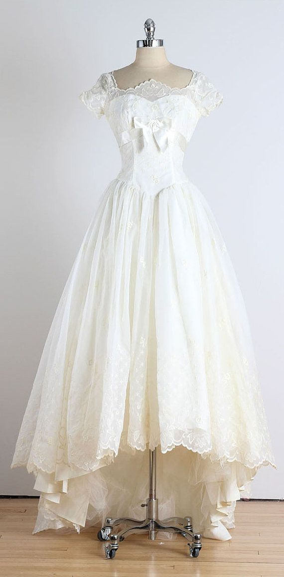 Trousseau Vintage 1950s Dress