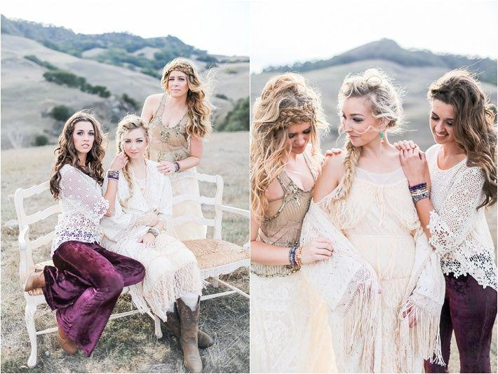 Wedding - Winter Bohemian Wedding Ideas