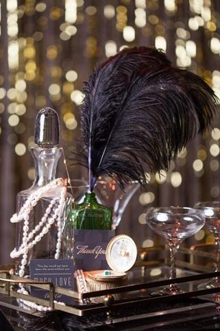 Wedding - Gatsby : Une Décoration De Mariage Inspirée Des Années Folles