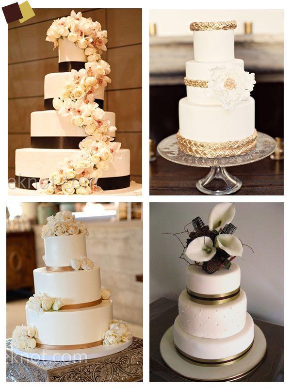 Свадьба - Dourado E Marrom - Decoração Para Casamento