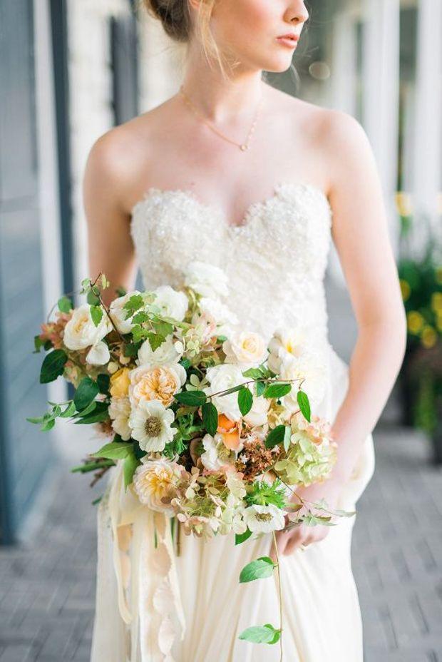 Свадьба - Buttermilk & Beauty Wedding Inspiration & Colour Ideas