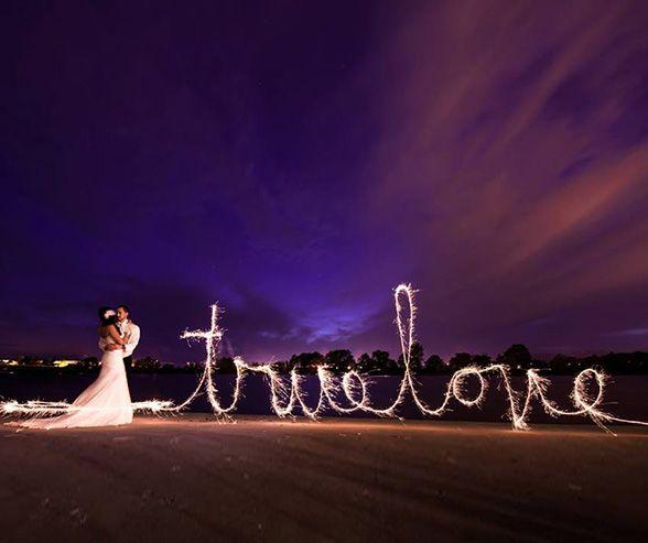 Wedding - BuySparklers.com - Matt Kennedy Photography