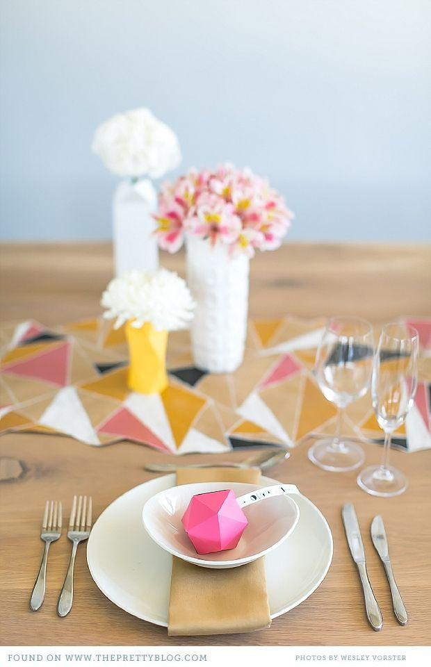 Wedding - Colours To Preserve - Table Decor Inspiration