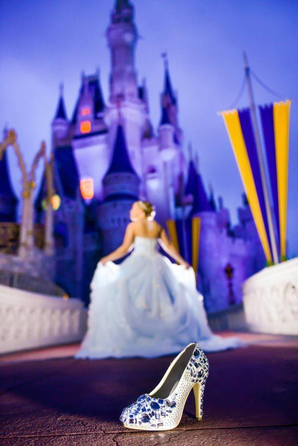 Свадьба - Magic Kingdom Disney Wedding Portraits: Cierra   Mark