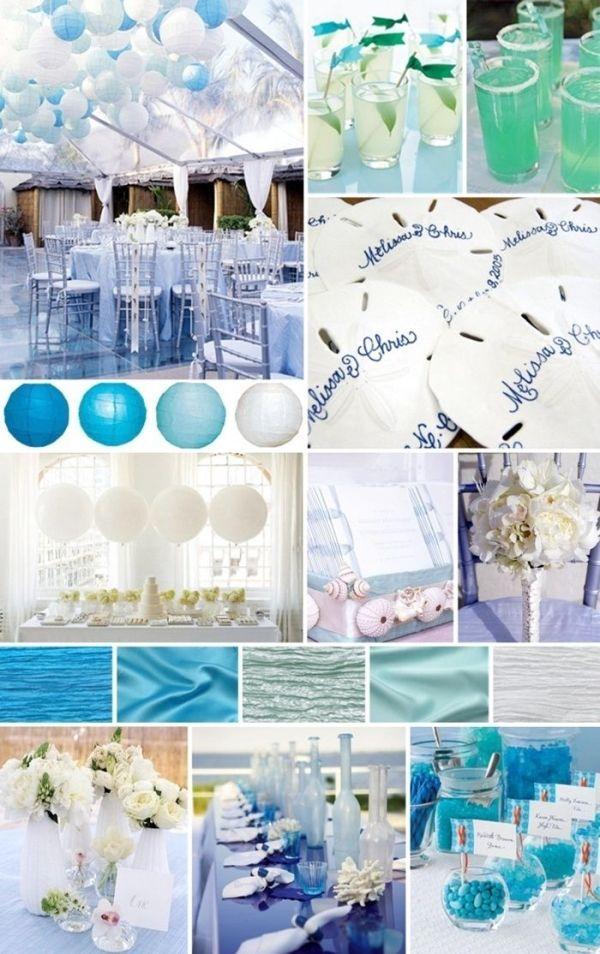 bridal shower theme beach
