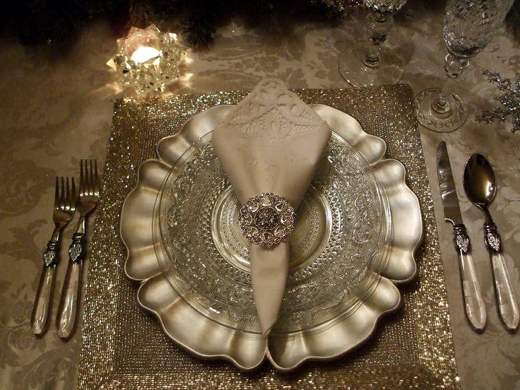 Wedding - Beautiful Christmas Table Settings