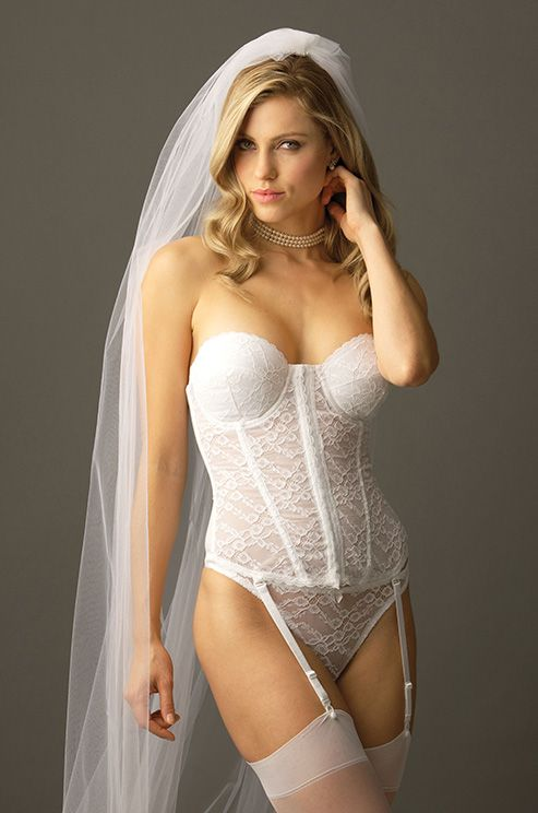 Wedding - Va Bien Front Closure Bustier