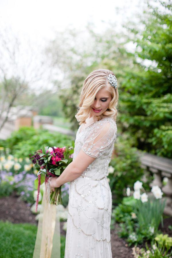 Wedding - Elegant Gatsby Wedding Inspiration At Cairnwood Estate