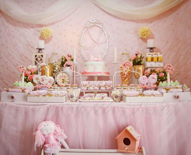 Wedding theme shabby chic birthday party ideas 2371411 - Decoration a la main ...