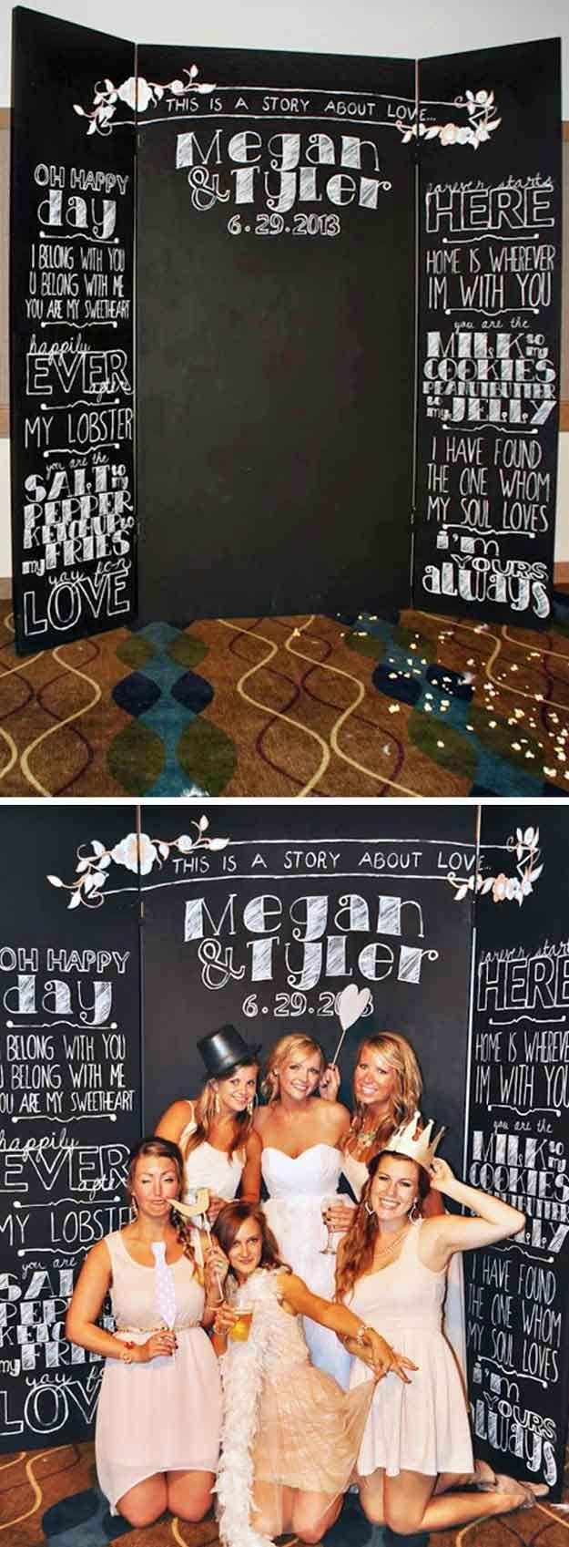 Wedding - 20 DIY Photo Booth Ideas