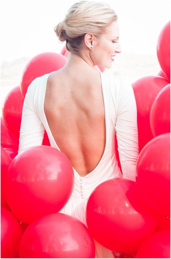 Wedding - 99 Red Balloons Wedding Inspiration