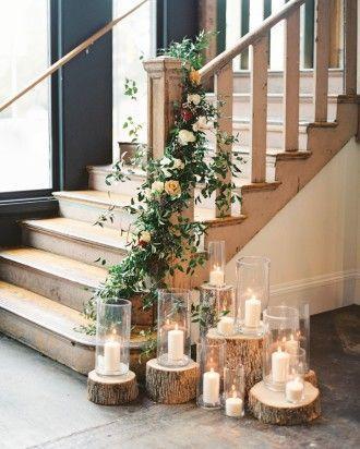 Hochzeit - Silk Wedding Garland