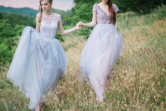 Mariage - Tulle Wedding Gown // Gardenia