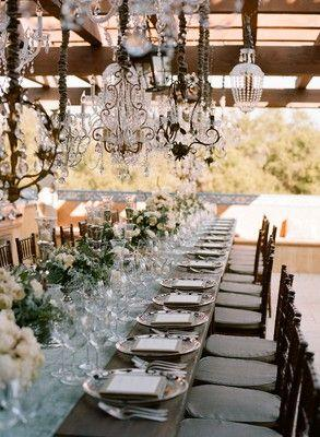 Mariage - French Shabby Chic Style: Part 2 - Table Decoration