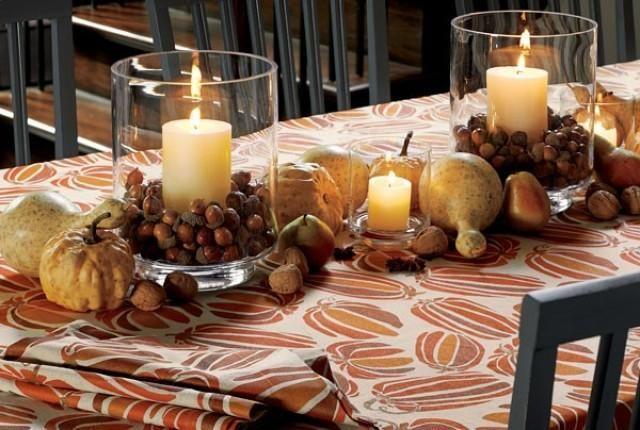 Mariage - Autumn And Halloween Table Decor Ideas