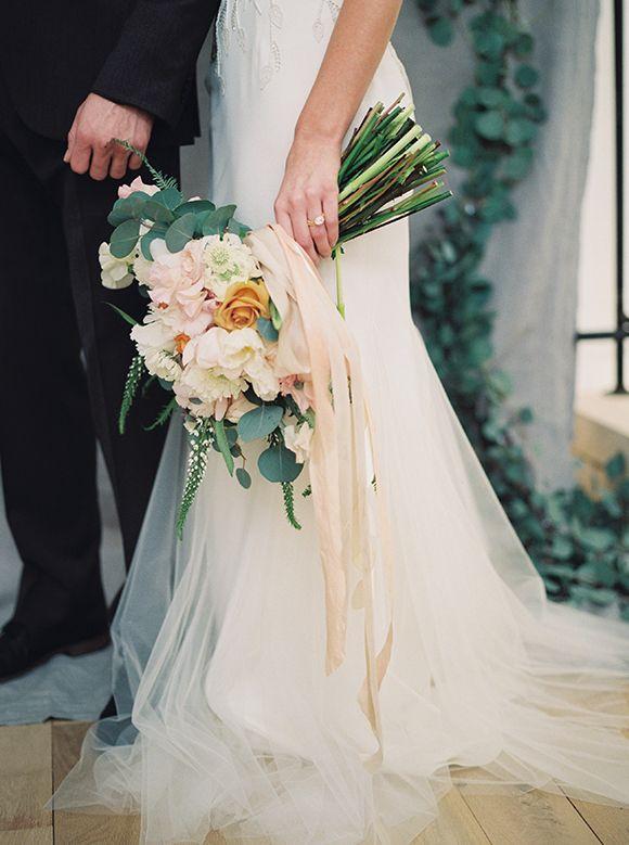 Romantic Pink Orange Spring Wedding Ideas Magnolia Rouge