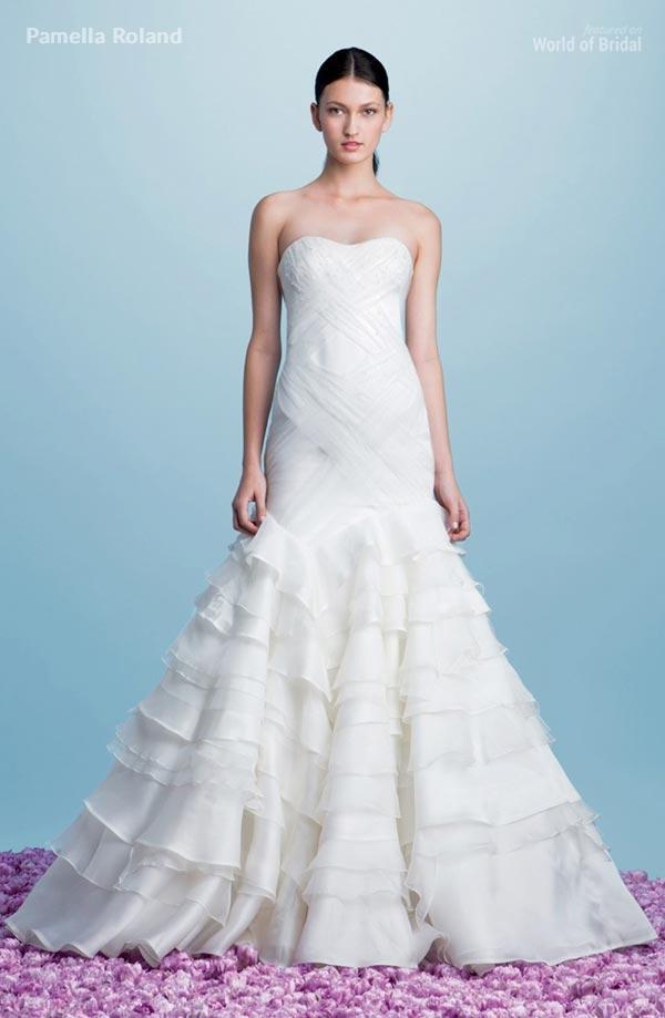 زفاف - Pamella Roland Fall 2015 Wedding Dresses