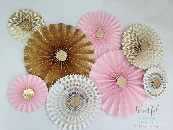 Hochzeit - Pink and Gold Glitter