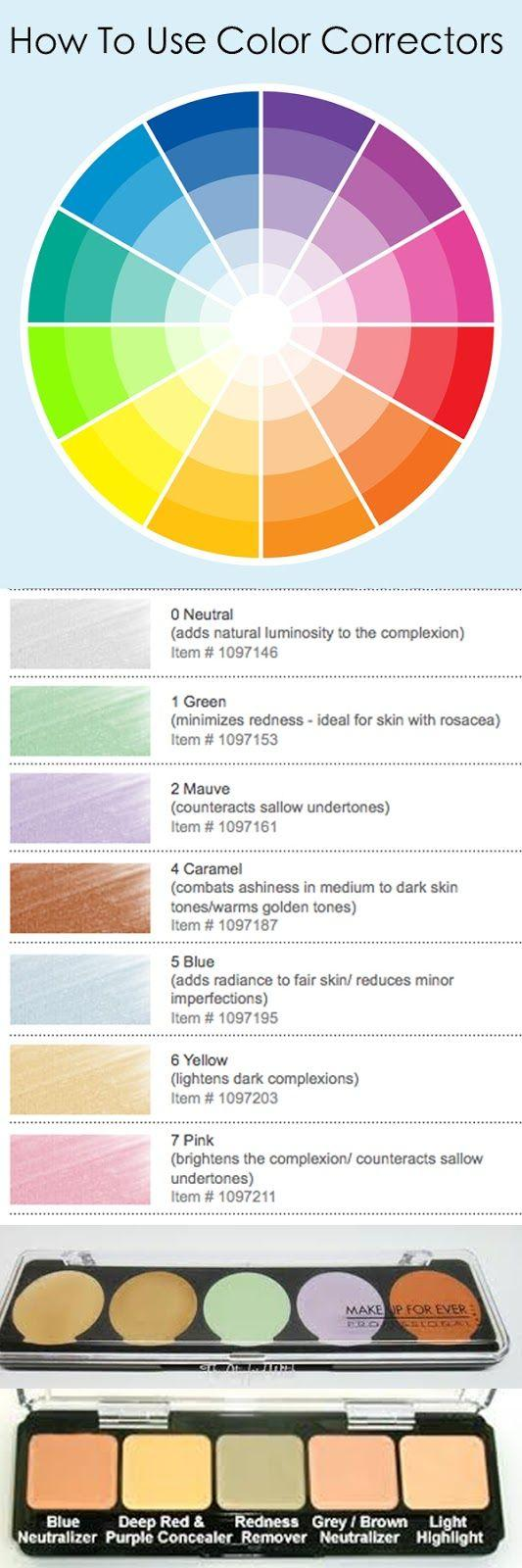 Свадьба - Makeup 101: Color Theory & Make-up Artistry