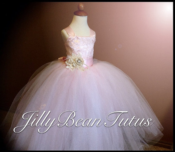 Mariage - flower girl dress
