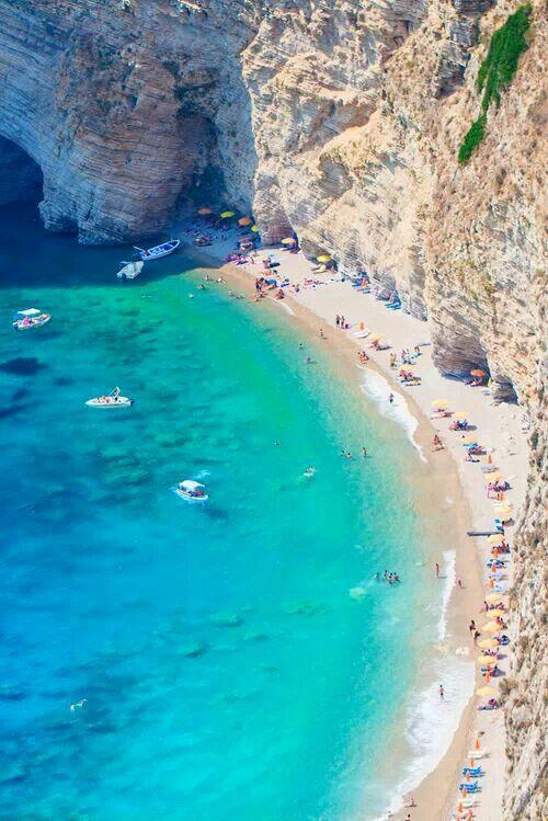 Hochzeit - Cliff Beach, Corfu, Greece
