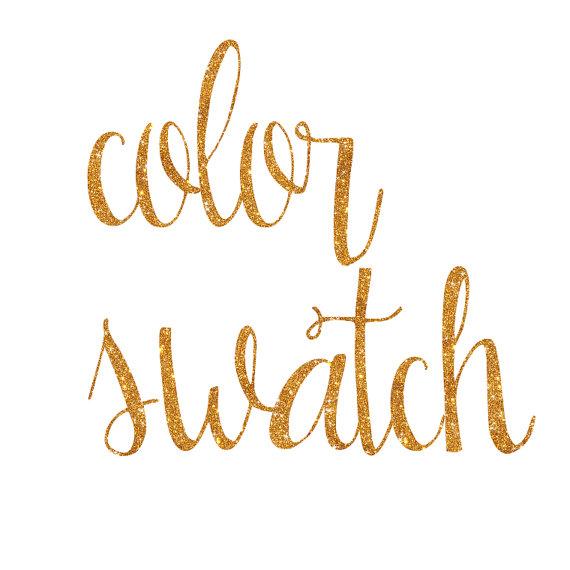 Wedding - Color Swatch