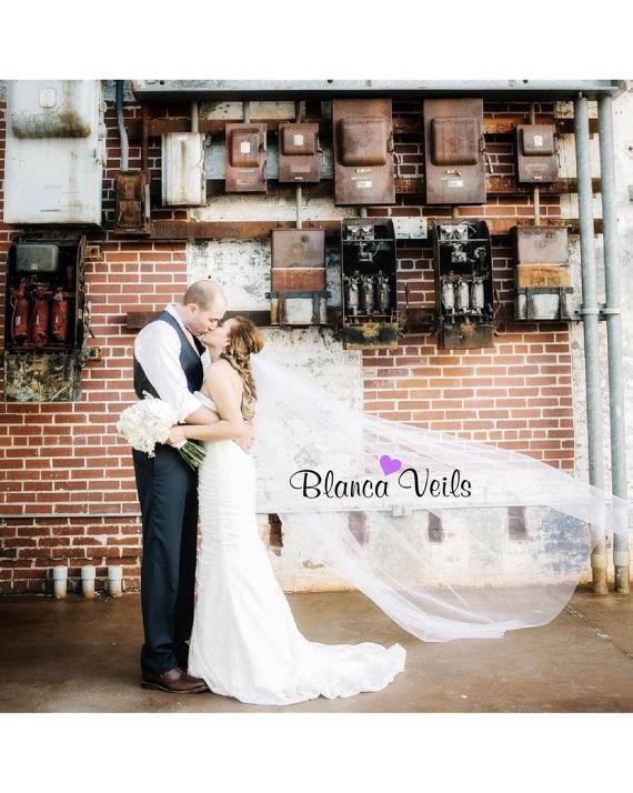 زفاف - Delicate Soft Wedding Veil